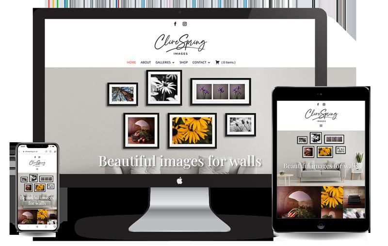 Clive Spring website image